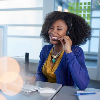 customer service with VoIP